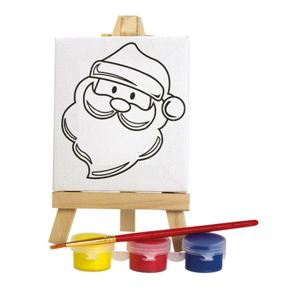 paint your own christmas art set